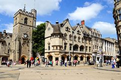 Carfax Tower, Oxford. Royalty Free Stock Photos