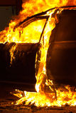 Carfire Stock Photo