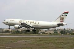 Carga Airbus de Etihad Imagens de Stock Royalty Free