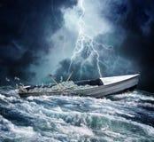 Carga de barco do dinheiro Fotos de Stock