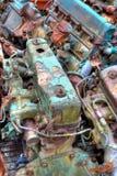 Carga del carro de motores Foto de archivo libre de regalías