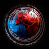 Carga del lavadero Foto de archivo