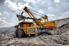 Carga do minério de ferro Imagens de Stock