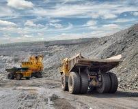 Carga do minério de ferro Imagem de Stock