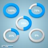 Carga em uma arte do círculo Imagens de Stock