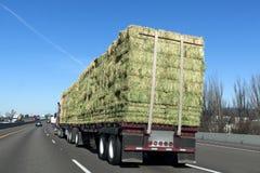 Carga plana del camión Imagen de archivo libre de regalías