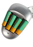 Cargador de batería fotografía de archivo