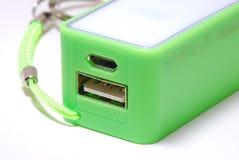 Cargador de batería portátil Foto de archivo libre de regalías