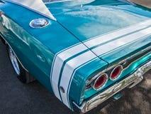 Cargador de 1968 Dodge Imagen de archivo libre de regalías