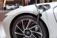 Cargador híbrido enchufable de BMW Foto de archivo