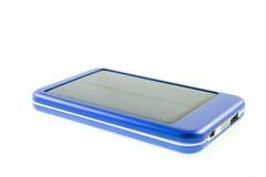 Cargador solar móvil moderno del teléfono celular Imagen de archivo