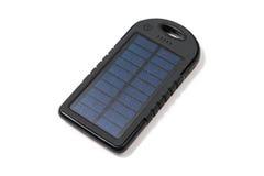 Cargador solar portátil Fotografía de archivo libre de regalías
