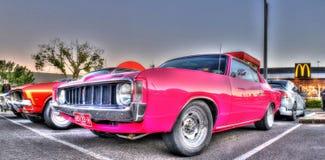 Cargador valeroso de Chrysler del australiano de encargo de los años 70 foto de archivo libre de regalías