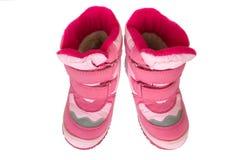 Cargadores del programa inicial calientes del cabrito rosado. Foto de archivo libre de regalías