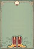 Cargadores del programa inicial de vaquero. Imágenes de archivo libres de regalías
