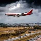 Cargaison d'avion - logistique | Avião Carga - Logistica images libres de droits