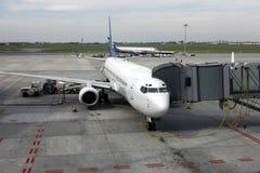 Cargaison de charge à Boeing photos libres de droits