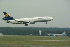 Cargaison de Lufthansa Images libres de droits