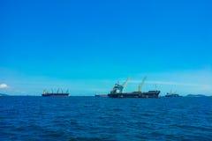 Cargaison 2 de navire image libre de droits