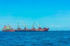 Cargaison 5 de navire photographie stock