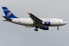 Cargaison de TC-LER ULS, Airbus A310-308 (F) Photos stock