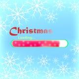 Cargamento de la Navidad Foto de archivo