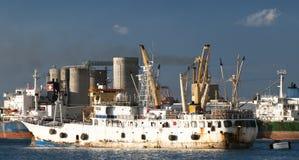 Cargamento del barco Imagen de archivo libre de regalías