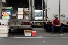 Cargamento del camión Foto de archivo