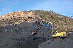 Cargamento del carro del carbón Fotografía de archivo libre de regalías