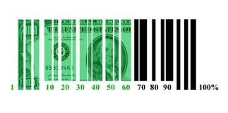 Cargamento del dólar Fotos de archivo libres de regalías