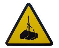 Cargas do perigo suspendidas Imagem de Stock
