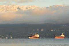 Carghi inglesi della baia, Vancouver Immagine Stock Libera da Diritti