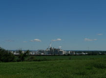 Cargill plant, Blair, Nebraska royalty free stock photo