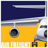 Cargo air transportation Stock Photography