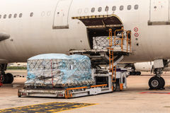 Cargo airplanes royalty free stock photo