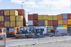 Cargo bay Stock Photo