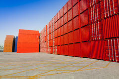 Cargo blocks Royalty Free Stock Images