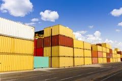 Cargo blocks Stock Image