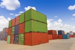 Cargo blocks Stock Photography