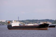 Cargo boat Royalty Free Stock Photo