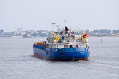 Cargo boat Royalty Free Stock Photography