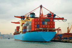 Cargo Boat Royalty Free Stock Photography