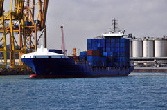 Cargo boat Stock Photography