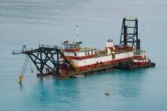 Cargo boat III Royalty Free Stock Photo
