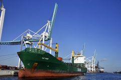 Cargo boat Royalty Free Stock Photos