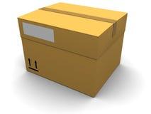 Cargo box Royalty Free Stock Photos