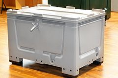Cargo box Royalty Free Stock Photography