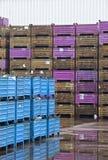Cargo boxes Stock Photos