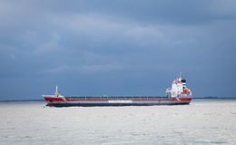 Cargo carrier of shipping company Wagenborg Stock Photos