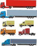 Cargo cars Royalty Free Stock Photography